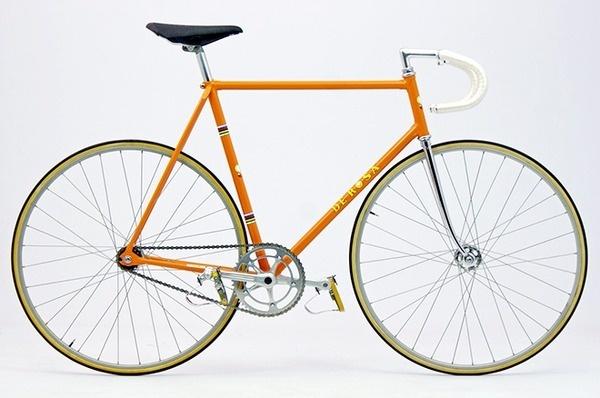 OrangeDeRosaSide #bicycle #track #bike
