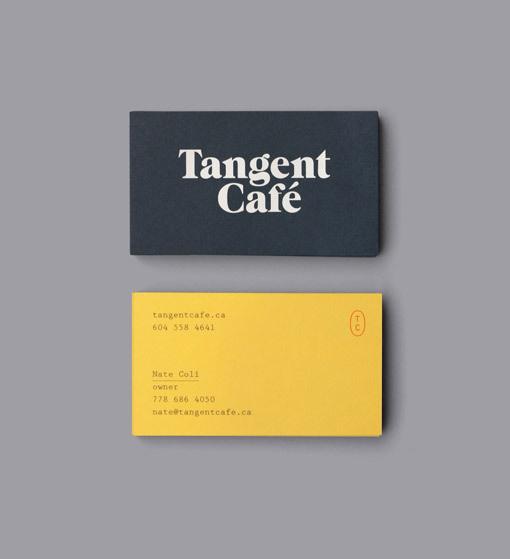 FiveThousandFingers_TangentCafe_02 #serif #card #minimal #business