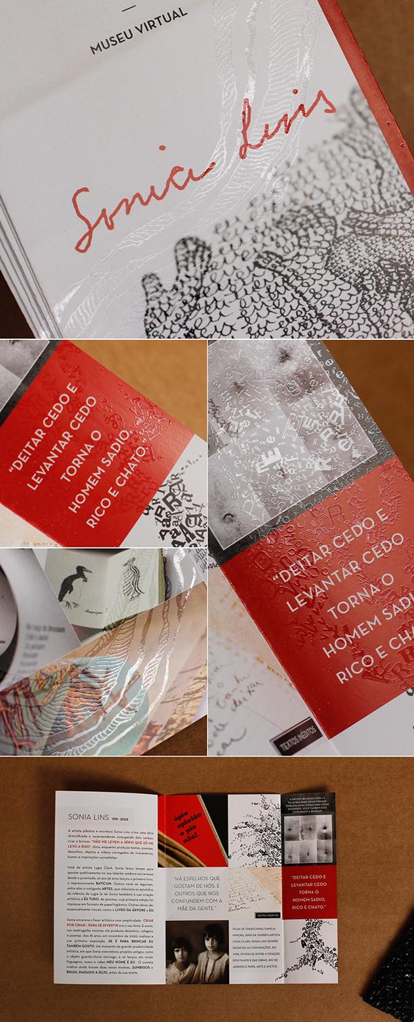 SONIA LINS on Behance #brochure #print #folder