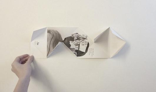 La Nouvelle #z33 #design #graphic #poster #folding