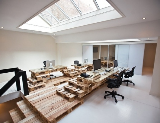 most architecture: brandbase pallet #pallets #office #design #architecture