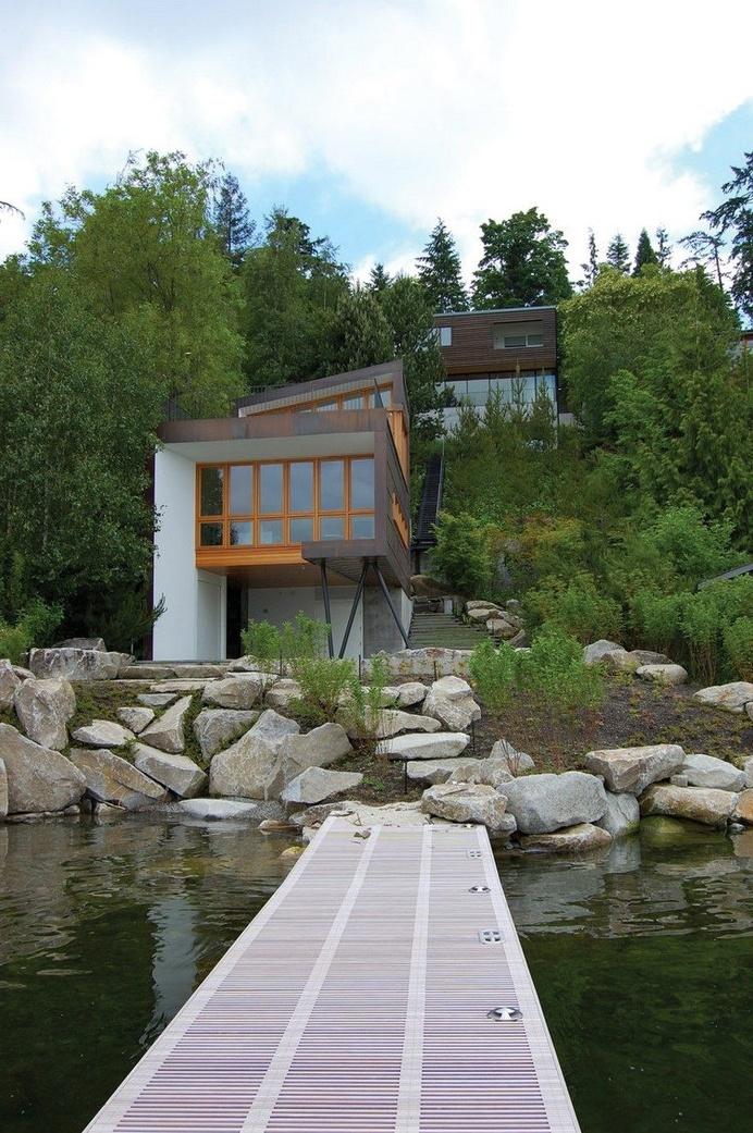 Modern Guest House on Mercer Island, Washington 13