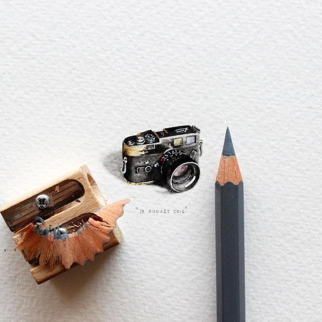 postcardsforants-1 #miniature #painting