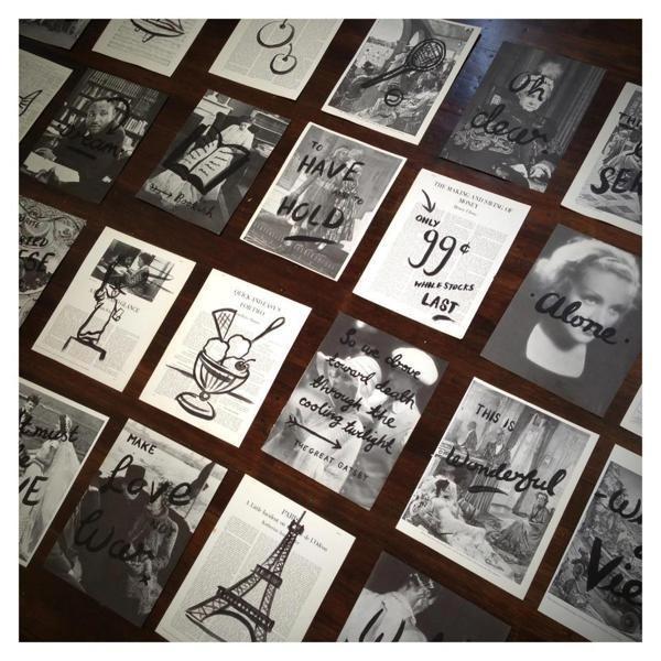 HAND DRAWN WORK by Hardhat #drawn #vintage #poster #hardhat #hand #typography
