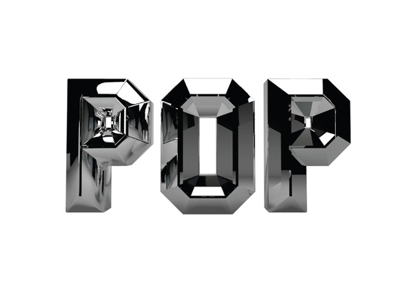 POP Bevel on the Behance Network #typography