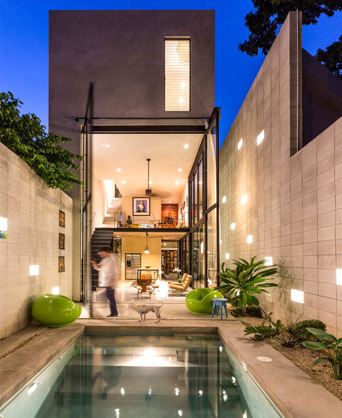 best architecture modern mexican house located images on designspiration