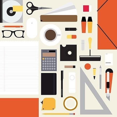 FFFFOUND! #simple #illustration #icons