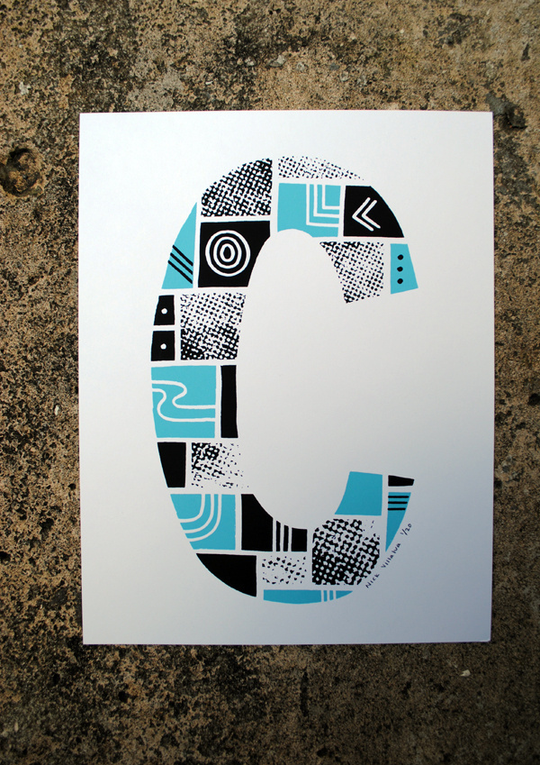 type type a letter and print
