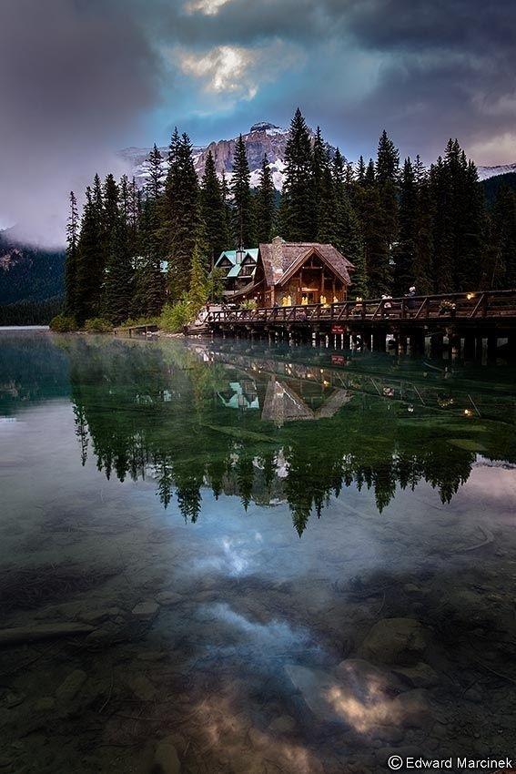 Emerald Lake, Yoho National Park, Canada. #inspiration #photography #place #favourite
