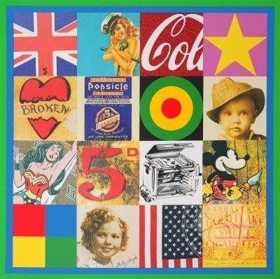 Sources of Pop Art IV Silkscreen Print by Sir Peter Blake Buy Online – Authenticity Guaranteed #peter #art #blake