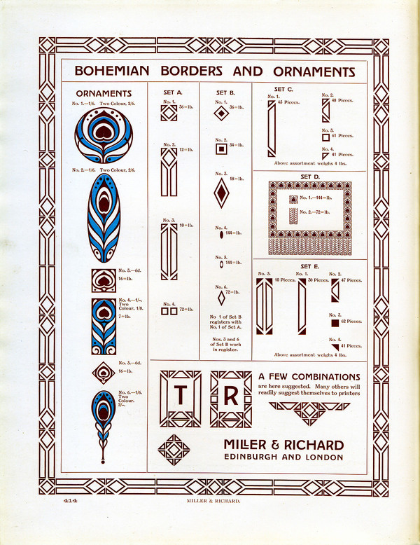 I wish I knew something about these great old ornaments by Miller and Richard. If anyone knows of a source of information about Miller and R #type #specimen #ornament