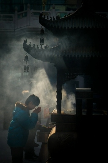 Chinese New Year, 2011 - The Big Picture - Boston.com #temple #photography #smoke #incense