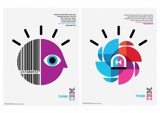 Office   Work   IBM / Designing a Smarter Planet #design #graphic #visitoffice #illustration #ibm #poster