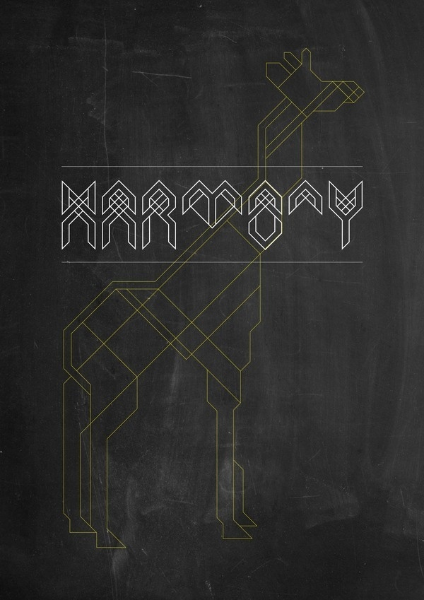Harmony Typeface on the Behance Network #typeface #typography
