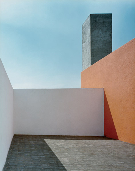 Luis Barragán, Barragán House, Mexico City, Mexico, 1948 #barragan house