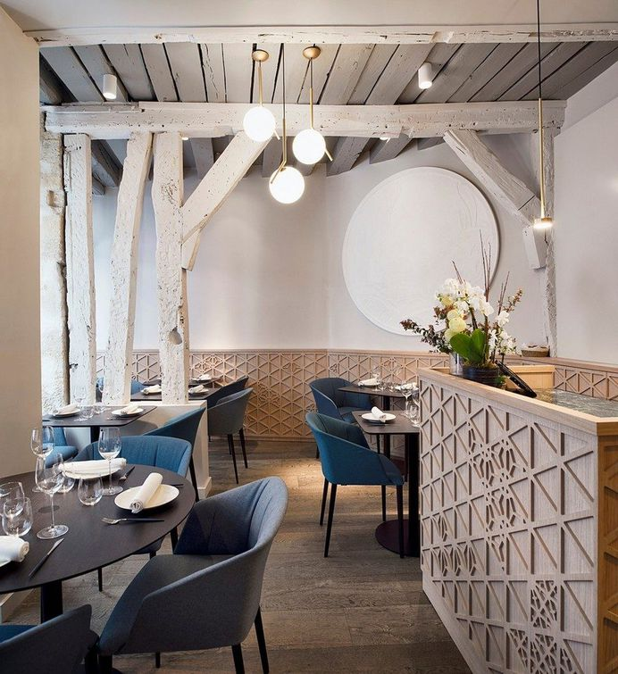 Gourmet Restaurant in Paris by Alia Bengana + Atelier BEPG 2