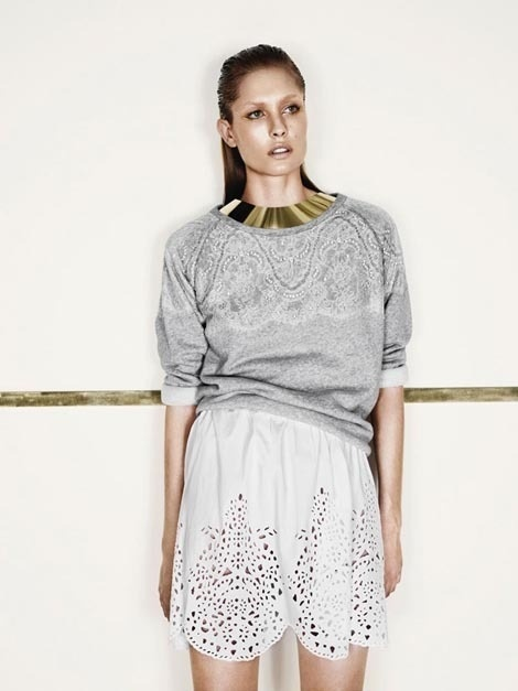Nadja Bender by Jens Langkjaer for Designers Remix Campaign #model #girl #photo #photography #fashion #beauty