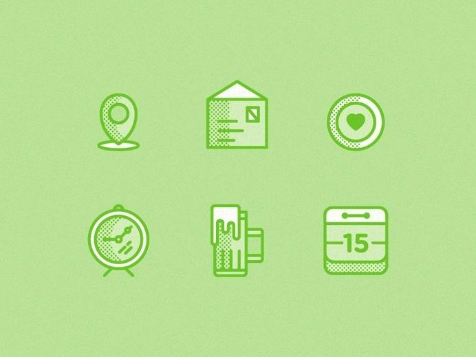 WIP—Icon Set #pictogram #iconography #icon #sign #glyph #iconic #picto #symbol #emblem