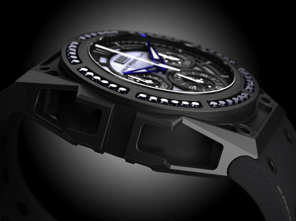 linde werdelin spidospeed black diamond watch 1 #fashion #watch
