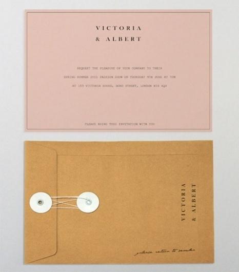 Design Work Life » cataloging inspiration daily #fashion #invite #identity #stationery