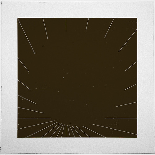 #420 Black matter – A new minimal geometric composition each day