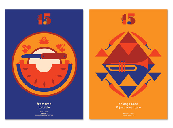 Manchester Food and Drink Festival | Bitique #illustration #posters