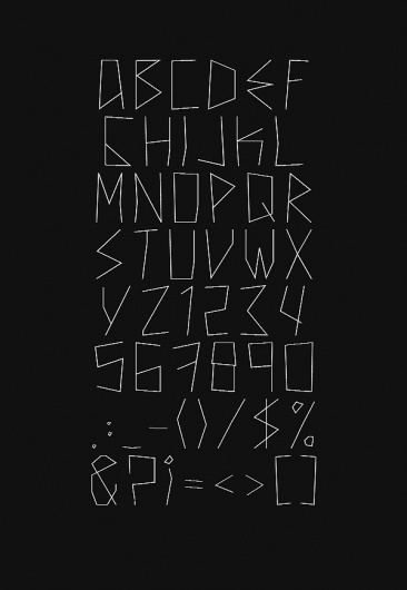 New Theory FREE Font on the Behance Network #font #theory #typography #free #new