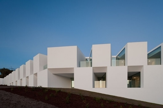 The Nursing home of Aires Mateus Architects through the eyes of Fernando Guerra | Yatzer™ #abstract #facade #modern #architecture #minimalist
