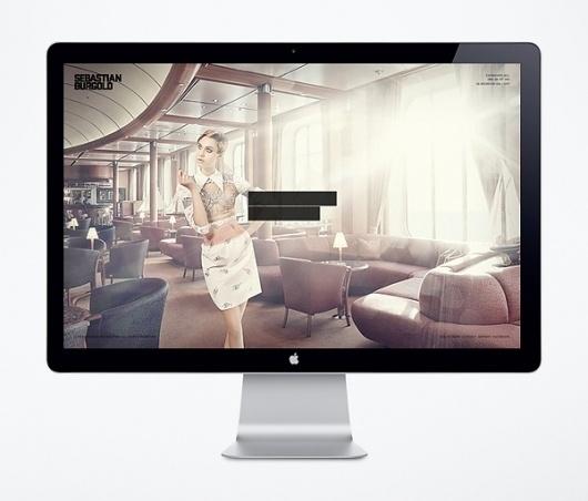 Visual identity / Sebastian Burgold on the Behance Network #photography #web #interactive