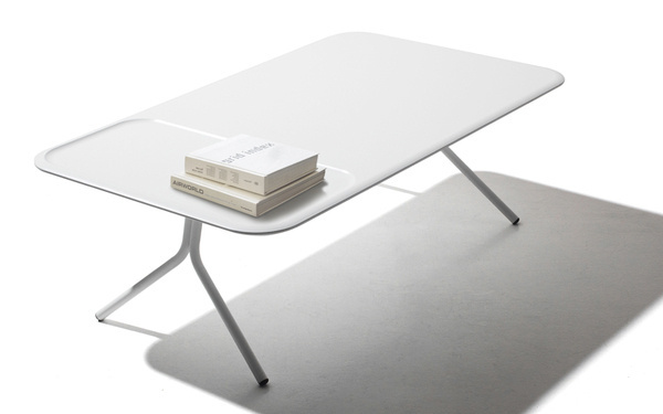 http://blog.leibal.com/furniture/scallop/ #coffee #furniture #table #minimal