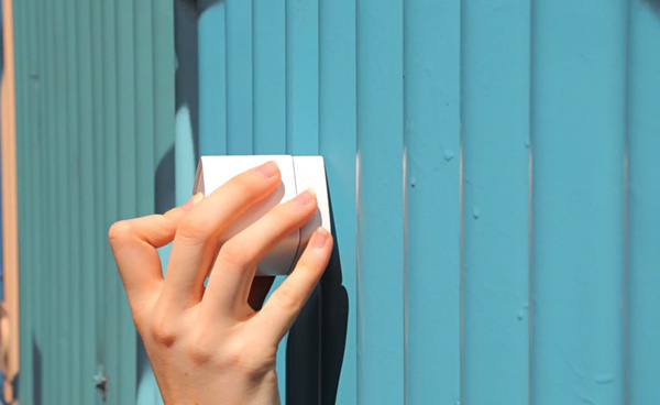 swatchmate cube: a portable color detecting device #cube