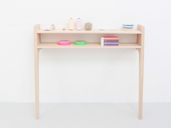 La Console by Caroline Gomez #minimal #desk #workstation