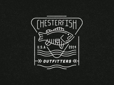 Chesterfish #fishtown #illustration #fish
