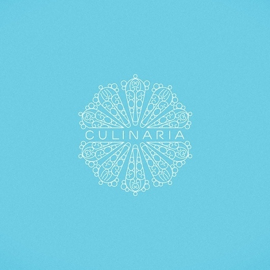 Culinaria on the Behance Network #pattern #intricate #elegant #identity #logo #typography