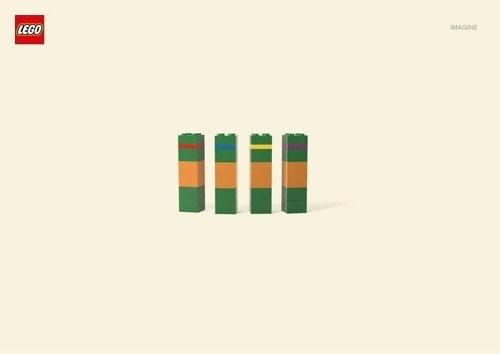 Lego imagine #turtles #lego #minimalism