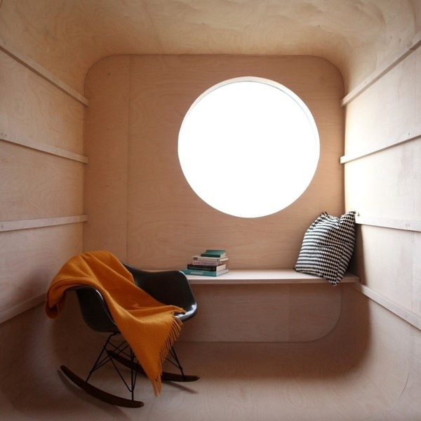 discarded construction trailer transformed into flexible dwelling #trailer