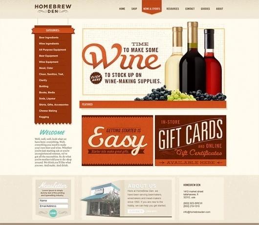 HomeBrew Den #ecommerce #interactive