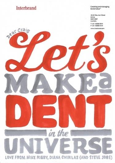 We Love Typography #dent