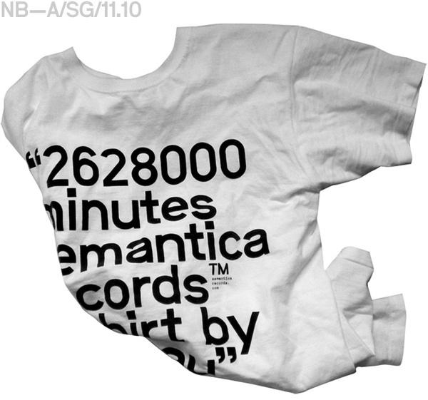 Semantica T #apparel #print #tshirt #shirt #screen #type #typography