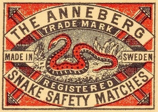 Typography / snake #type #vintage #label