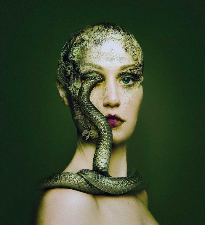 Animeyed: Fine Art Self-Portraits by Flora Borsi