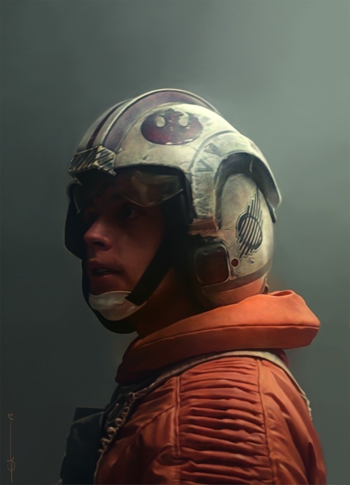 photorealistic illustration by euclase. Star wars #photorealistic #wars #star #illustration
