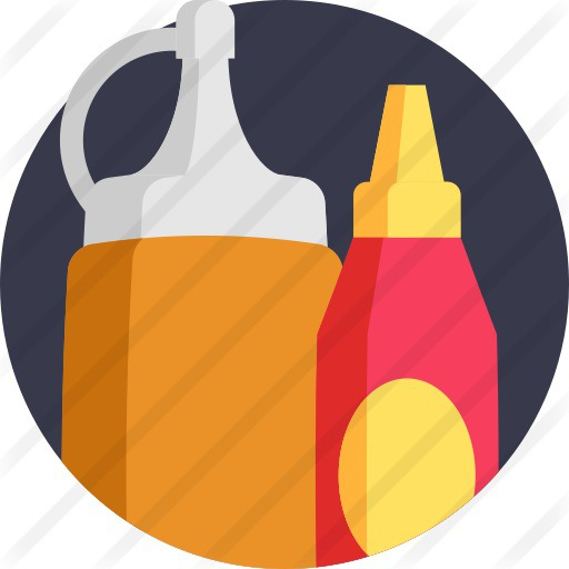 See more icon inspiration related to food and restaurant, mustard, condiment, ketchup, sauces, sauce, spicy and food on Flaticon.
