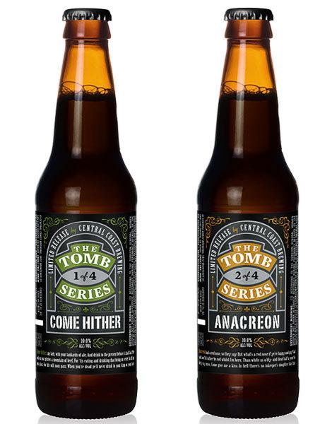 Tomb Series Packaging #packaging #beer #label #bottle