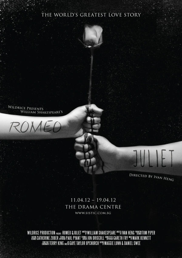 Romeo & Juliet Poster Series 2 #design #black #photography #poster #singapore