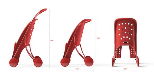 pahoj-stroller-bike-seat-2 #stroller #seat #bike