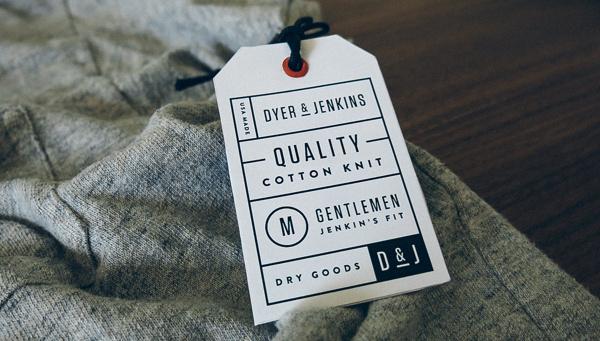 Dyer & Jenkins on Behance #design #tag #branding #hang