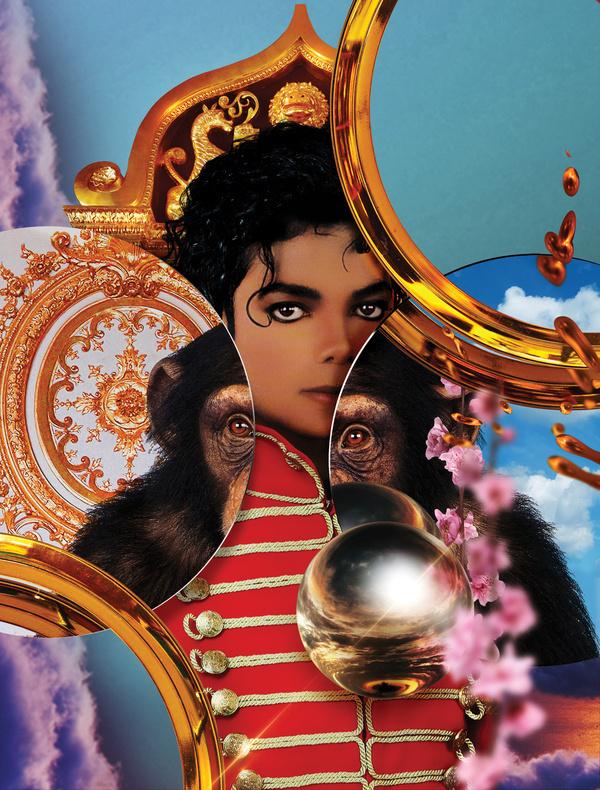 Michael Jackson / Clash Magazine | Mat Maitland #jackson #mat #collage #maitland #michael