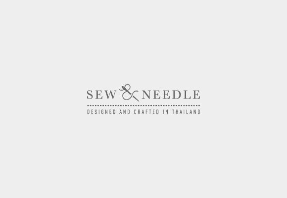 Sew And Needle Corporate Identity on Behance #logo