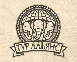 Tour Alliance by designer #logo #elephant